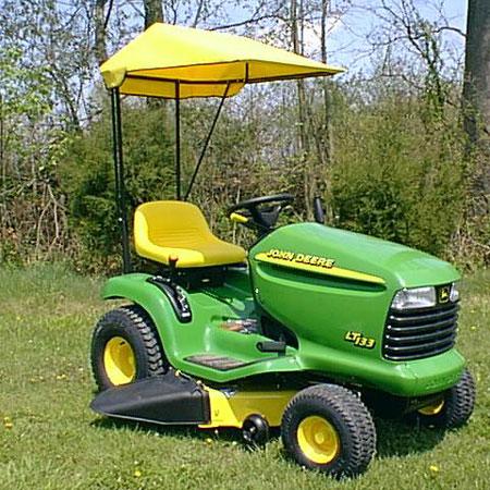 Original Tractor Cab John Deere Lt100 Series Sunshade 30077