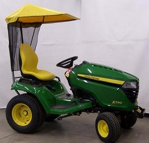 Original Tractor Cab Soft Top Sunshade John Deere 2016
