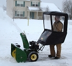 Universal Walk Behind Snow Blower Cab