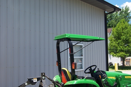 Review this item & Original Tractor Cab Canopy Fits Mowers With ROPS up to 34