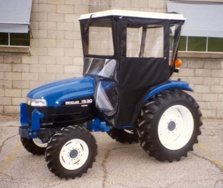 Hard Top Cab Enclosure For New Holland TC25 - TC34, CASE DX29 - DX34, and Farmall 31 and 35 and more, see fit-up list.