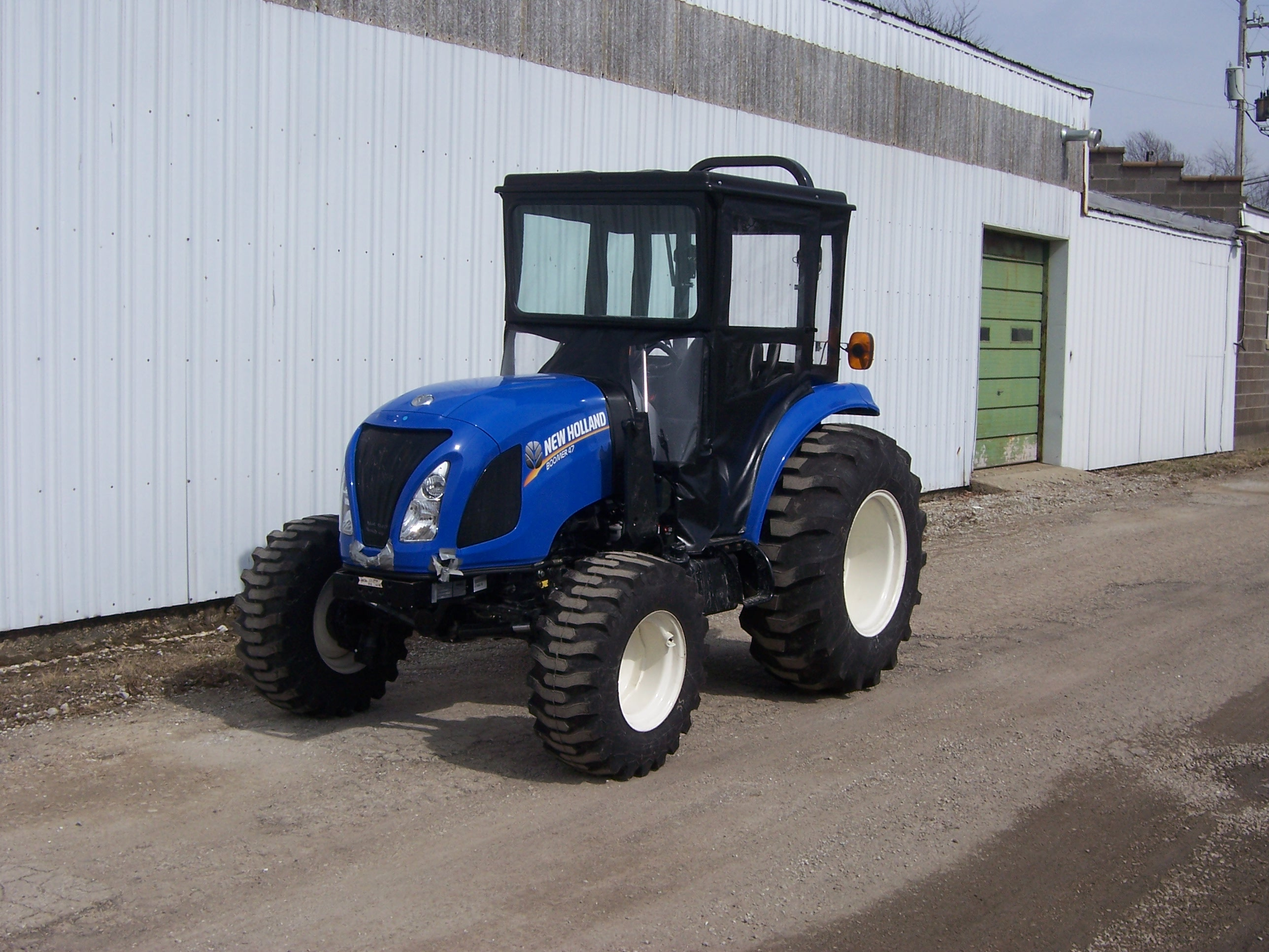 Original Tractor Cab For New Holland Boomer 33, 37, 41, 47 and Farmall 30C, 35C, 40C, and 50C