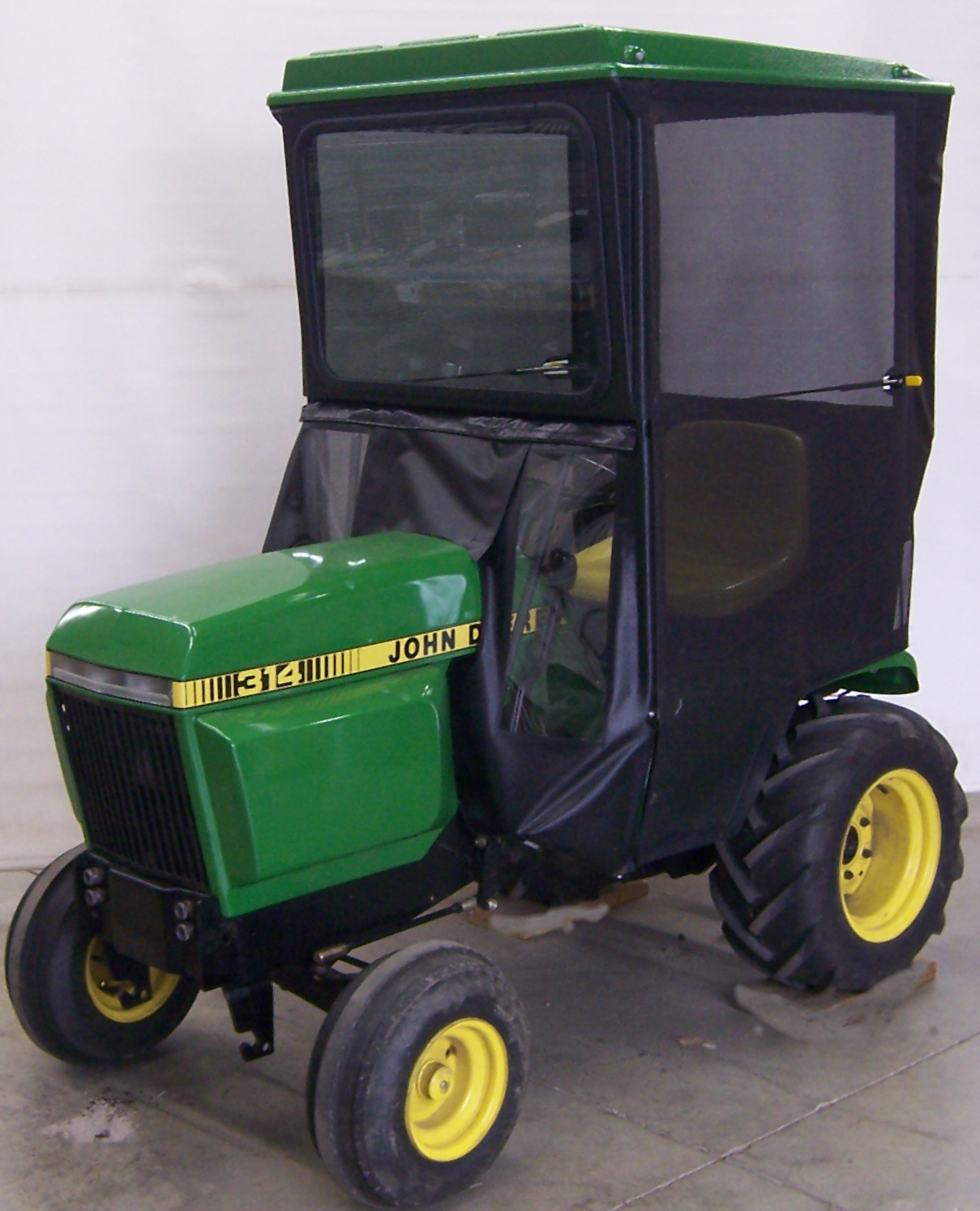 Original Tractor Cab Hard Top Cab Screen Door Kit to Fit John Deere X700 Signature Series