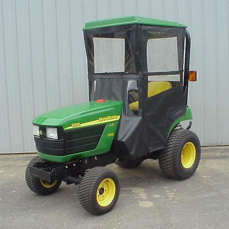 Original Tractor Cab Hard Top Cab Enclosure For John Deere 2210 & 2305 Compact Utility Tractor