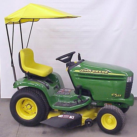 Original Tractor Cab Sunshade Fits John Deere Gt225 Gt235