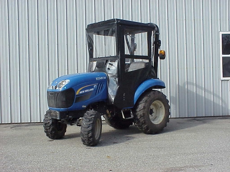Hard Top Cab Enclosure For New Holland Boomer 20, 24, 25