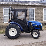 Hard Top Cab Enclosure For LS R Series, McCormick CT Series, Farmall 30B, 35B, 40B and 50B, New Holland Boomer 30,35,40 and 50