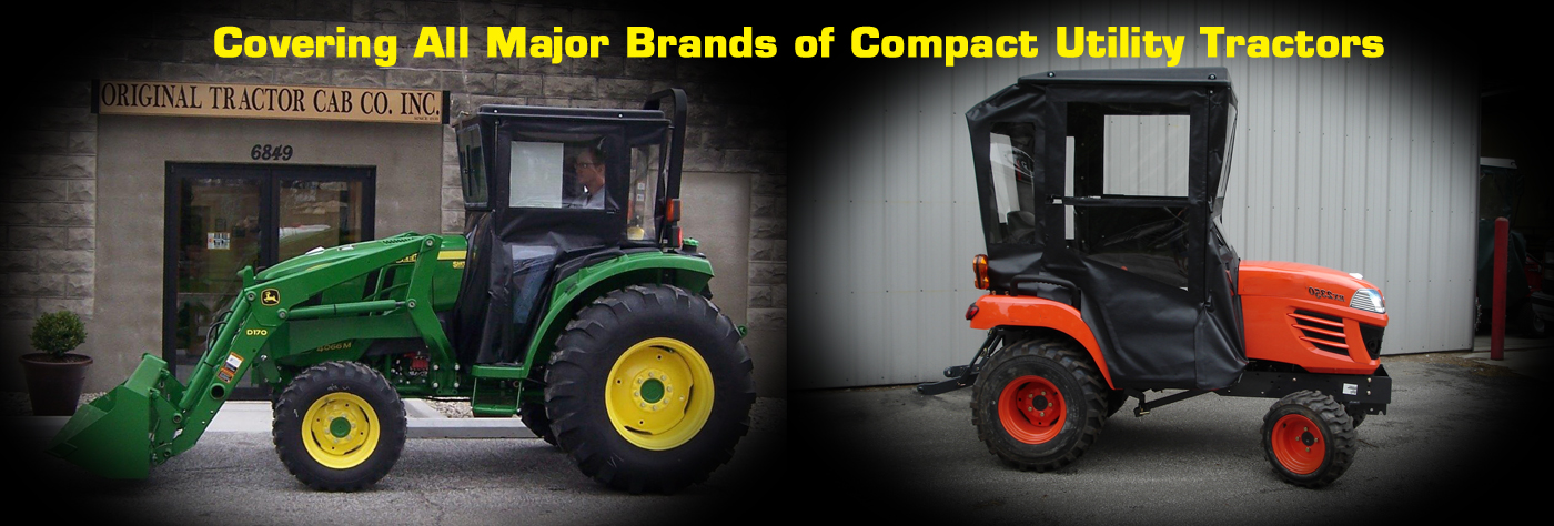 Original Tractor Cab - First In Weather Protection - John
