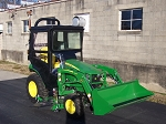 Hard Top Cab Enclosure For 2025R  Compact Utility Tractors