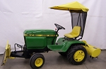 Soft Top Sunshade For Early Model 300 Series John Deere Tractors
