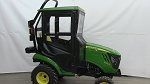 Original Tractor Cab Hard Top Cab 12110 Enclosure Fits John Deere New 1 Series With Forward Leaning ROPS