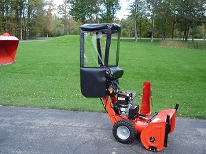 Snow Blower Cab For Simplicity 2 Stage Snowblowers Black Vinyl