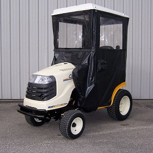 Hard Top Cab Enclosure for Cub Cadet 2000 and 2500 Lawn Tractors
