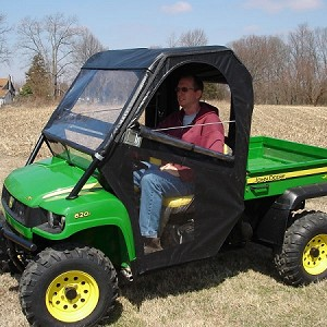 Original Tractor Cab John Deere XUV Gator Windbreak Enclosure