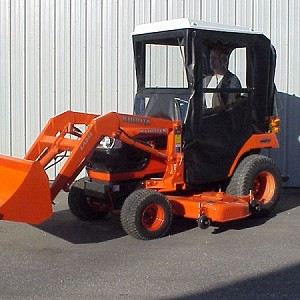 Hardtop Cab for Kubota BX 1830, 2230, 1500, 1800, and 2200 Sub-Compact Tractors