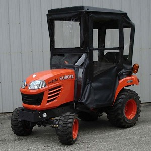 Hardtop Cab for Kubota BX 1850, 1860, 2350, 2360, 2660 Sub-Compact Tractors