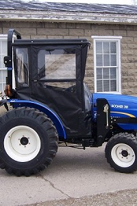 Hard Top Cab Enclosure For LS J Series Tractors