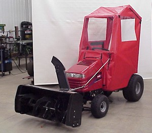 Soft Windbreak Cab For Snapper LT Tractors